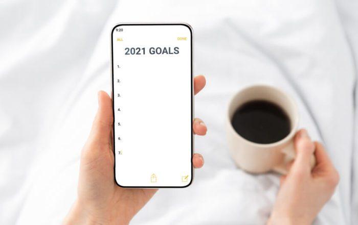 2021 New Year Goals Checklis
