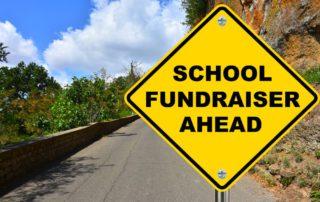 Spring School Fundraiser Sign
